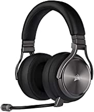 Corsair Virtuoso RGB Wireless SE Gaming Headset - High-Fidelity 7.1 Surround Sound with Broadcast Quality Microphone - Memory Foam Earcups - 20 Hour Battery Life Works w/ PC, MacOS, PS5 - Gunmetal