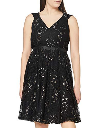 Joe Browns Damen Lacey Party Dress Lssiges Abendkleid, Schwarz, 36