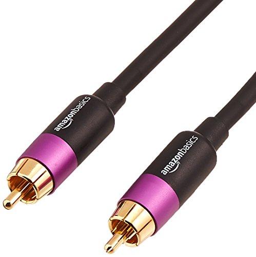 Amazon Basics RCA Audio Subwoofer Cable - 50 Feet