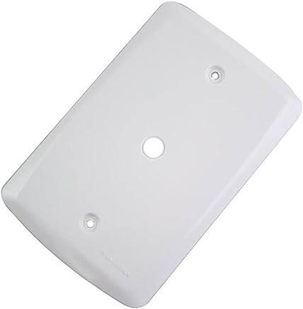 Placa com 1 Furo 9,5mm 4 x 2 Branca-TRAMONTINA-57105002