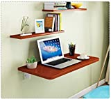 N&O Renovation House Wall Mounted Folding Table for Garage/Laundry/kitchen Multifunction Computer...