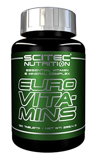 Scitec Euro Vita-Mins - 120 Comprimidos 200 g