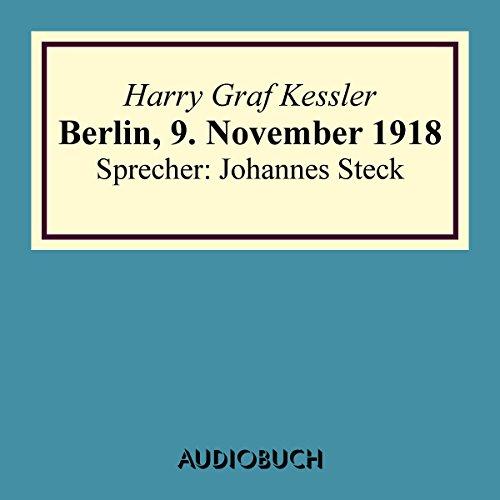 Berlin, 9. November 1918 Titelbild
