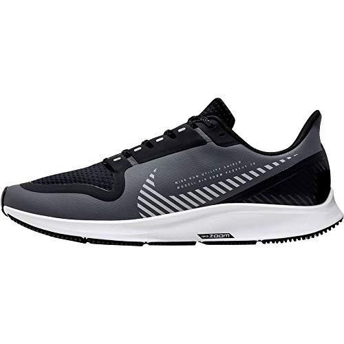 Nike Men's Air Zoom Pegasus 36 Shield Competition Running Shoes, Grey (Cool Grey/Silver-Black-Vast Gr 003), 11 UK