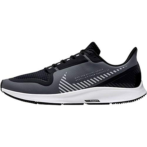 Nike Men's Air Zoom Pegasus 36 Shield Running Shoe, Cool Grey/Silver-Black-VAST GR, 6 UK
