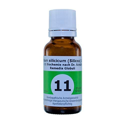 Schüßlersalze Globuli Remedia Acidum silicicum (Silicea) D12 Nr. 11