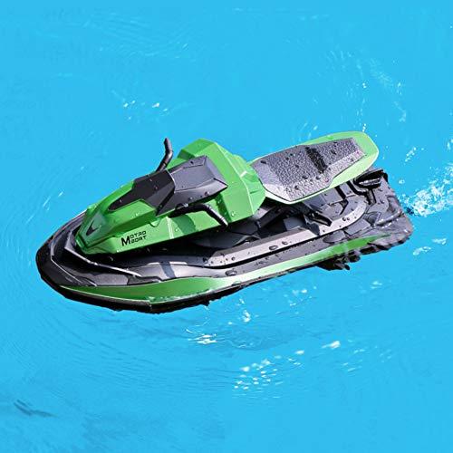 AKDSteel Mini RC barco 2,4 G 40 metros mando a distancia verano...