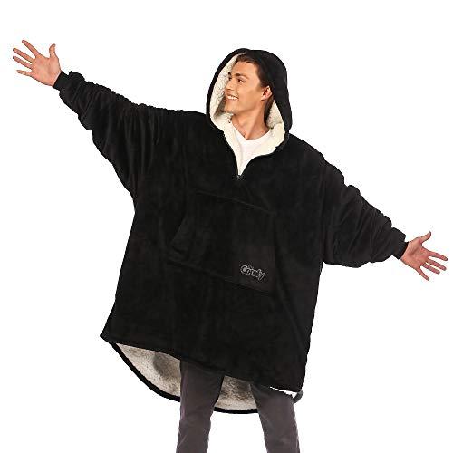 THE COMFY Original   Oversized Microfiber & Sherpa Wearable Blanket, Seen On Shark Tank, One Size...