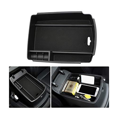 LFOTPP Mittelkonsole Aufbewahrungsbox Sportage, Armlehne Organizer Mittelarmlehne Handschuhfach, Tray Storage Box Auto Zubehör (Automatische Handbremse)