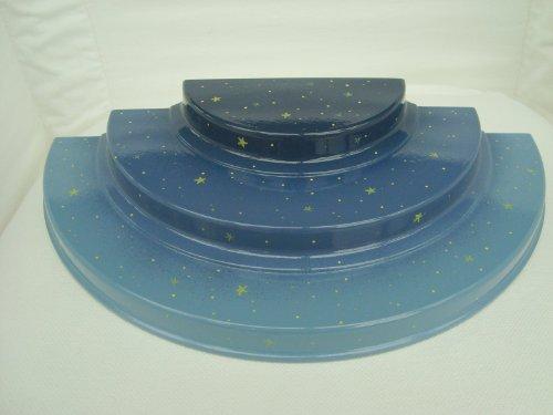 Wendt & Kühn 550/B - 3-stufiger Engelberg, ohne Kerzentüllen, 30x15 cm
