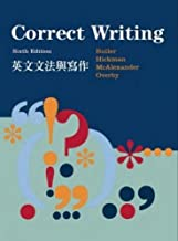 Correct Writing English Grammar and Writing (6th ed. 2011) (Paperback) (Traditional Chinese Edition)