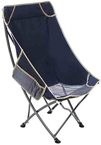 Woodtree Silla Plegable al Aire Libre Pesca al Sillón de heces Beach Lounge Chair Silla del Ocio Tumbona (Color: Azul), Color: Azul (Color : 3)