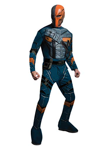 Rubie's Kostüm Herren Batman Arkham City Deluxe Muscle Chest Deathstroke - - Small