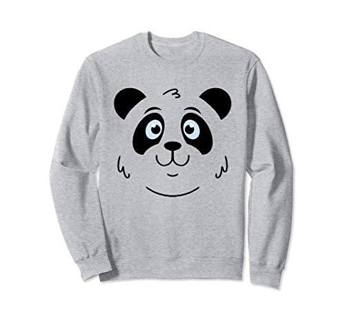 Bonito rostro panda Panda Bebé Panda Regalo De Disfraces Sudadera