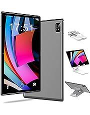 4G LTE Tablet 10 inch Android 10.0, 6 GB RAM + 128 GB ROM, 512 GB uitbreidbaar, Octa-Core, 1080p Full HD-display, 7000 mAh, tablets met simkaartsleuf, 5G dual-band WLAN, Dual SIM, GPS, tabletstandaard