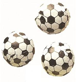 foil wrapped chocolate soccer balls