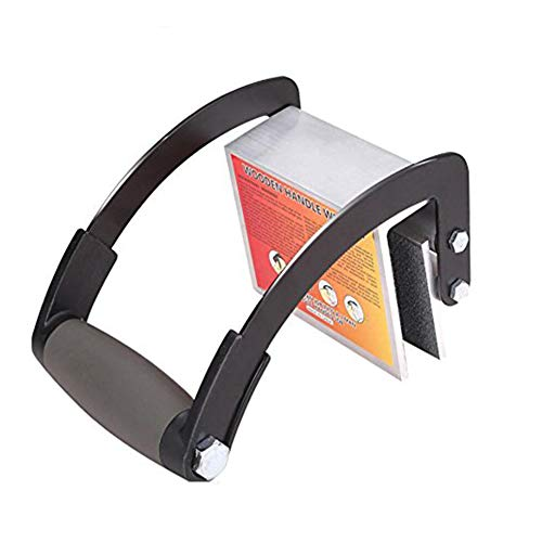 Chiloskit Heavy Duty Wood Plywood Panel Carrier Metal Gripper Sheet Carry Handle