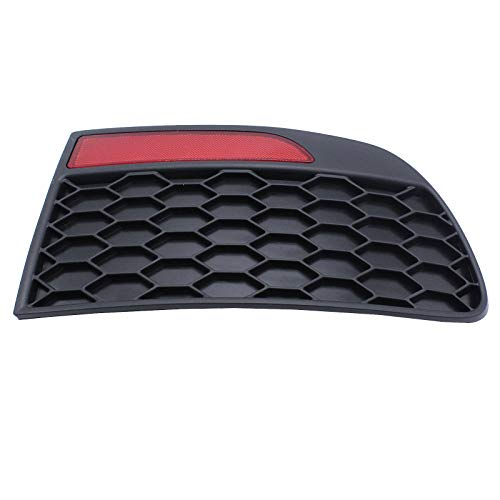 Car Rear Bumper Reflector, Rear Bumper Reflector and Trim, No Drilling or Modification Required, for Fiat Mk2b Punto 03 Pair Rear OE Number:735362640