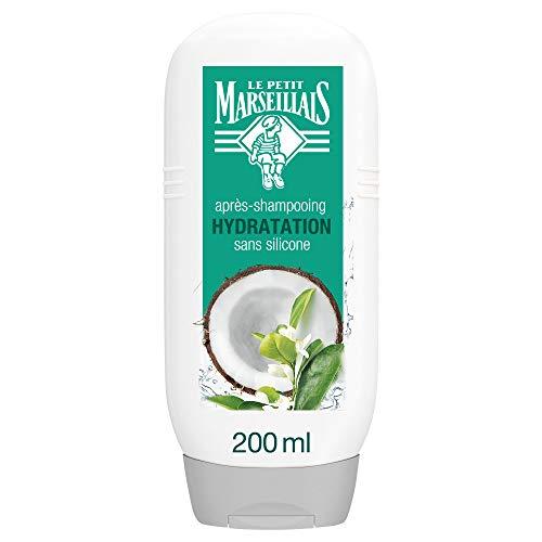 Le Petit Marseillais After Shampoo mit Feuchtigkeit und Kokoswasser Orangenblüte, Tube 200 ml
