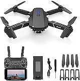 XYSQWZ Drone PortáTil con CáMara Dual, FotografíA AéRea 4K HD UAV Quadcopter Profesional WiFi Drones De Control Remoto para Adultos, Minutos Largos, Tiempo De Vuelo, Estuche De Transporte