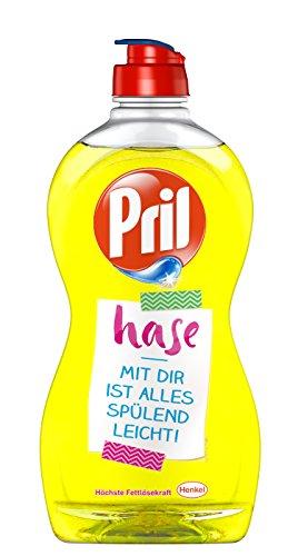 Pril Sprüche Edition Kraft-Gel Zitrone Geschirrspülmittel Flasche, 14er Pack (14 x 500 ml)