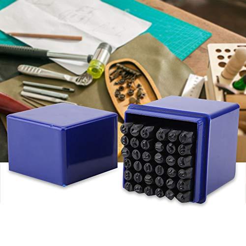 36 stuks/set 3 mm staal alfabet letters & cijfers stempel ponsgereedschap gereedschapsset
