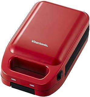 Vitantonio 厚焼きホットサンドベーカー gooood HotSandwichBaker [ トマト/VHS-10-TM ]