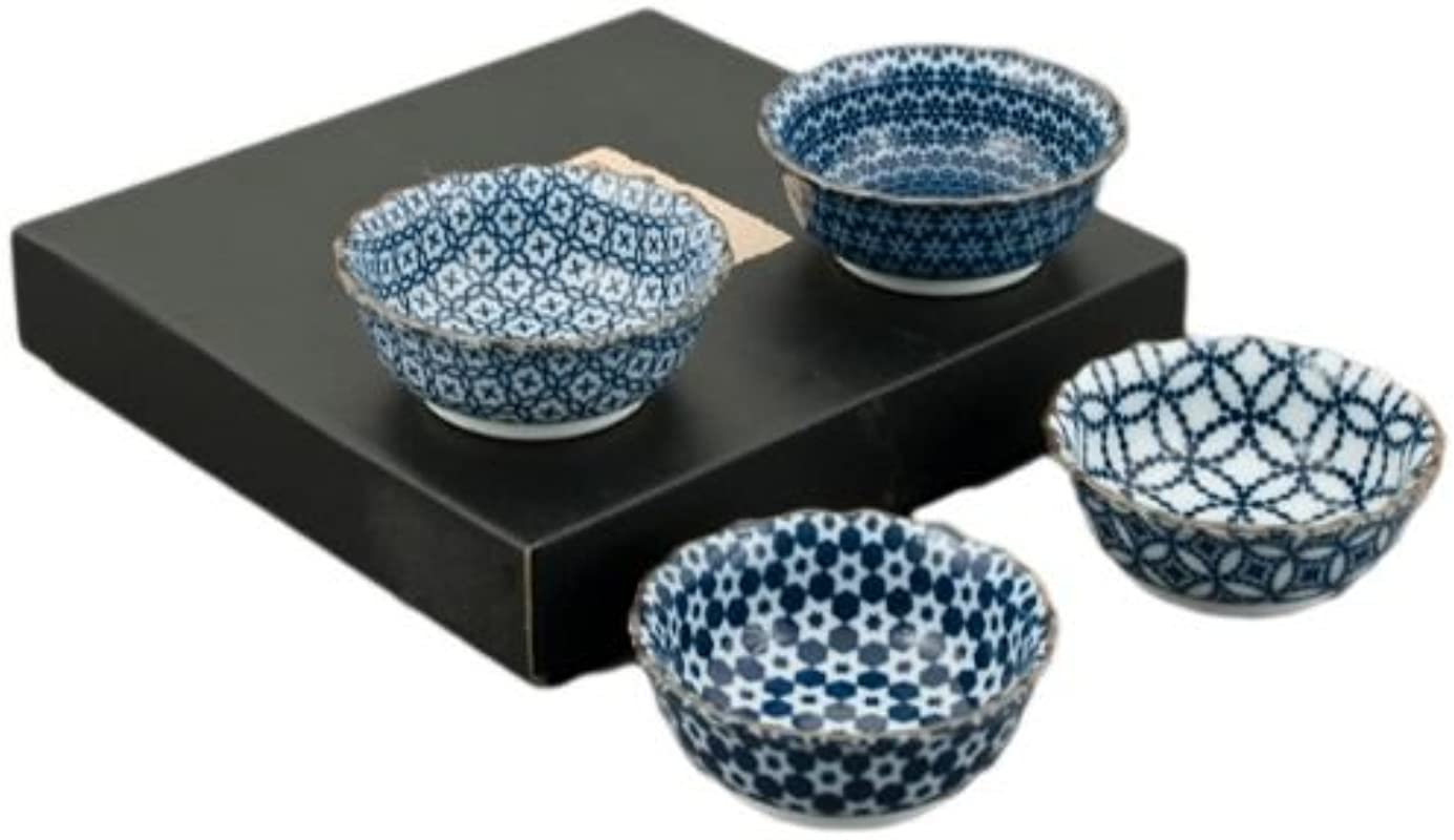 Fuji Merchandise BH110 AS 4PC BOWL SET One Size Blue