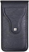 Helix Black Magnetic Double Mobile Pouch Smart Phone Bag Case for Infinix Zero 5