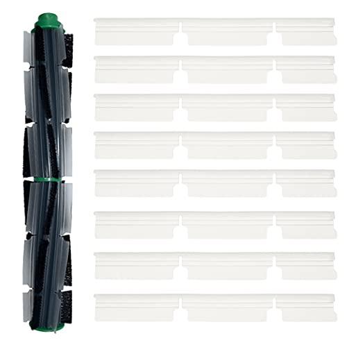 IUCVOXCVB Accesorios de aspiradora Cepillo Redondo Kit de Tiras de Goma Fit para Vorwerk Kobold VR200 VR300 Robot Accesorios de aspiradora de Robot Sweeper Limpieza de reemplazo