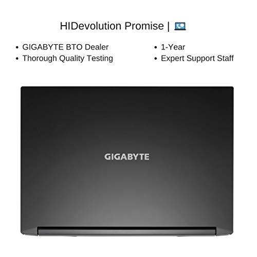 HIDevolution Gigabyte A5 K1-BUS2130SH, 15.6