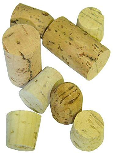 Nitebeat Records GC121 sortierte Korkdeckel, 100 g, enthält ca. 50 Stück, von 2 cm bis 4 cm in der Länge, naturfarben