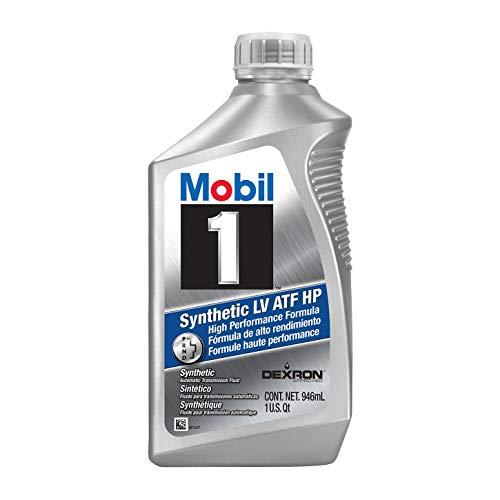 Mobil 1 124715 Synthetic LV ATF HP Case 1 Quart Bottles Set of 6