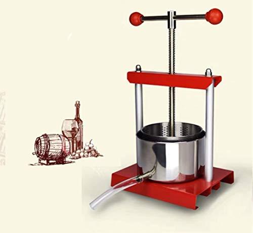 SNV Fruit Ferment Presser Manuelle Saftpressmaschine Home Edelstahlsaftpresse Selbstbrauende Traubenweinpresse Manor