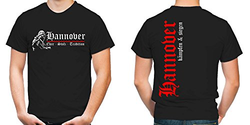 Hannover Ehre & Stolz T-Shirt | Fussball | Ultras | FB (XXL)