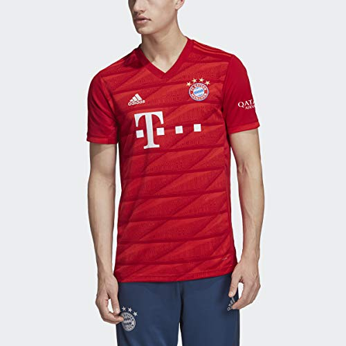 adidas Fc Bayern Munich Adult Home Replica Jersey Truered(Bts19) L