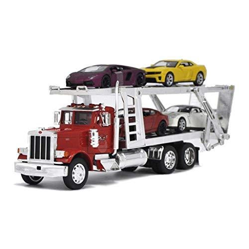 JIALI Auto Modell Legierung Modell baufahrzeug anhänger sterben Muster Auto Modell Auto Transport LKW Kinder...