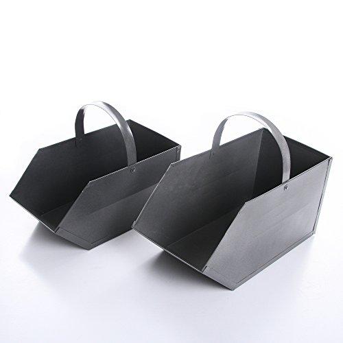 rg-vertrieb Kohlenkasten Kohlenschütte Kohle Koks Aschekasten Ofen Aschebehälter 2 Größen (Größe 1)
