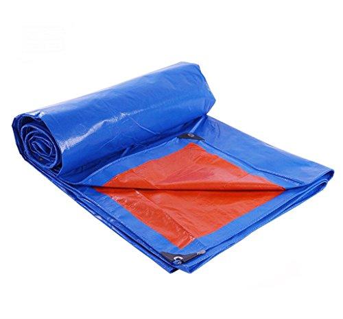 LQq-Bâches L'épaisseur imperméable de bâche de bâches de PE est 0.25mm, 180G / m²- protègent votre tente, plat, bois de chauffage, ou toit pour le camping en plein air (taille : 3m*4m)