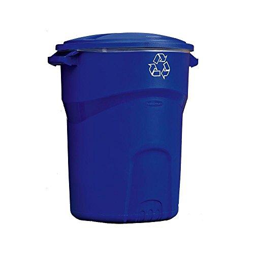 Rubbermaid Roughneck 32 Gal. Recycling Bin (1)