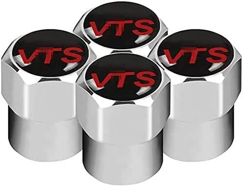 Cubierta de neumático a prueba de polvo antirrobo de aleación de aluminio cubierta de válvula de neumático de coche accesorios de neumáticopor Citroen Sega VTS C2 C3 C4 C5 C6
