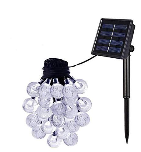 Yangangjin Solar-buitenlamp lichtketting waterdichte led-lichtkoperdraad tuinverlichting, paviljoen, terras, gazon, binnen- en buittuin, kerstbruiloftsdecoratie, warm