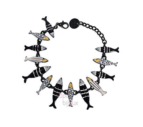 Lol Bijoux – Pulsera de sardinas – POpup-BijOux