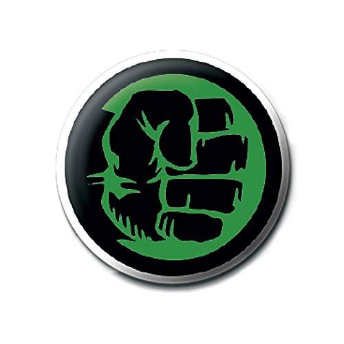 Genuine Marvel Comics Die unglaubliche Hulk Faust Symbol Logo Taste Abzeichen Stift Retro