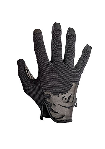 PIG Full Dexterity Tactical (FDT) - Delta Utility Gloves (Black, Small)