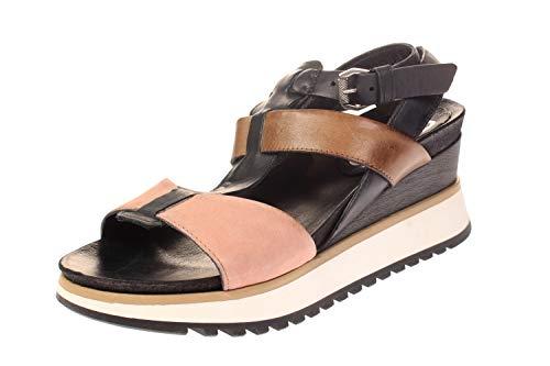 Mjus 912004-202-0001 - Damen Schuhe Sandaletten - Antico-Nero, Größe:38 EU