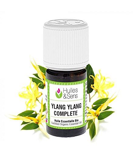 Huiles & Sens - huile essentielle ylang-ylang complète (bio) - 5 ml