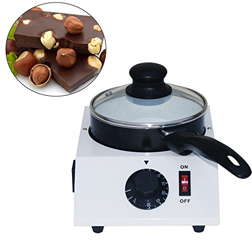 OBLLER Électrique Pour Chocolat,Cuiseur pour chocolat avec contrôle de la température 1L