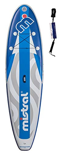 Mistral Adventure Edition Line, Superlight Woven-Fusion Layer Technology, Standup Paddel Board, SUP aufblasbar inkl. SUPwave.de Coil-Leash Stand up Paddle Board iSUP (10.5)