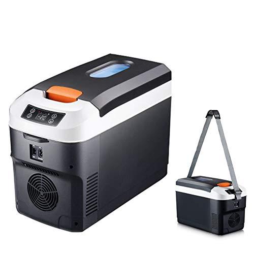 SXYY-Mini Refrigerador Coche Temperatura Constante 10L, La Leche Materna/Farmacia/Insulina/Dual-Uso Calefacción Caja Enfriamiento, Adecuado para Oficina/Exterior/Cosméticos/Viajes,220V12V